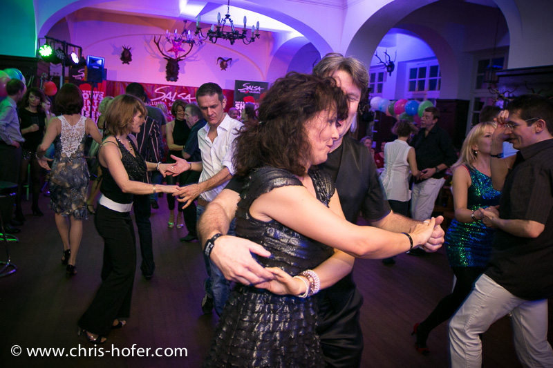 Silvesterparty Salsa.Salud 2013, 2012-12-31; Foto: Chris Hofer