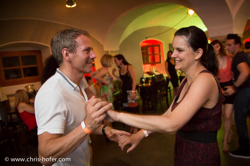 Noche Havana - Salsaparty im Schauspielhaus, 2014-06-06; Foto: Chris Hofer