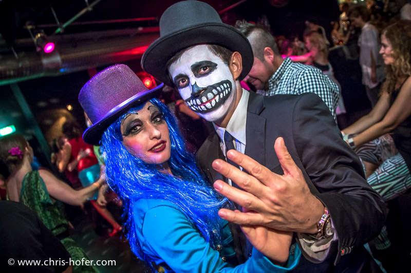 Halloween Salsaparty des Salsa Club Salzburg im Jazzit, 2014-10-31, Foto: Chris Hofer