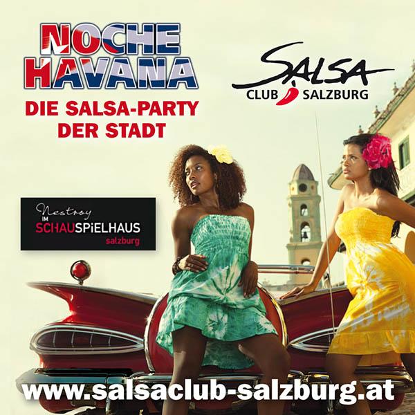 Salsa Salzburg - Noche Havana Schauspielhaus