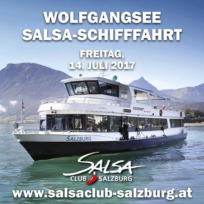 Salsa-Schifffahrt Wolfgangsee