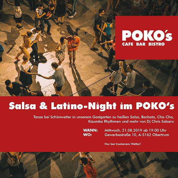POKOS Salsa & Latino-Night 2019-08-21